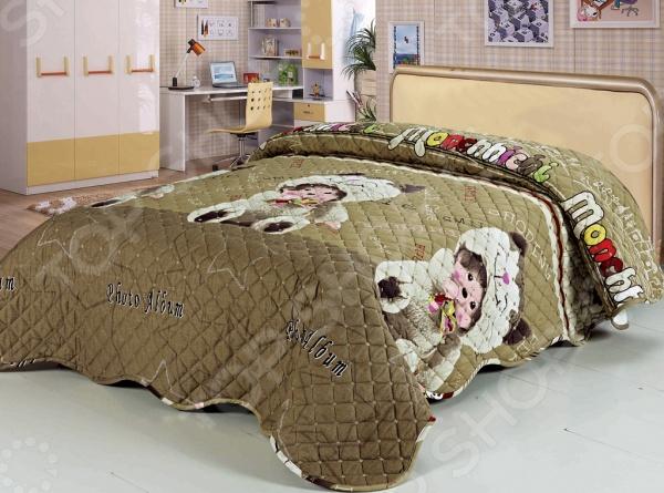 Покрывало Softline СелсоПокрывала<br>Покрывало Softline Селсо принесет в интерьер домашний уют. Не поддавайтесь зимним холодам и сохраните дома теплую атмосферу! Приобретение красивого покрывала самый легкий и недорогой способ обновить облик комнаты. Кроме того, покрывало существенно увеличит срок жизни мягкой мебели, оградив ее от царапин и пятен, которые трудно выводятся с обшивки диванов и кроватей:  В качестве сырья для изготовления этого изделия использованы нити хлопка. Натуральное хлопковое волокно известно своей прочностью и легкостью в уходе. Волокна хлопка состоят из целлюлозы, которая отлично впитывает влагу. Хлопок дышит и согревает лучше, чем шелк и лен. Поэтому одежда из хлопка гарантирует владельцу непревзойденный комфорт, а постельное белье приятно на ощупь и способствует здоровому сну. Не забудем, что хлопок несъедобен для моли и не деформируется при стирке. За эти прекрасные качества он пользуется заслуженной популярностью у покупателей всего мира.<br>