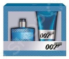 Набор мужской: туалетная вода и гель для душа James Bond Agent 007 (Gold Eau De Toilette + Shower Gel), 50 мл, 150 мл женская туалетная вода eau du ciel vivienne sabo 50 мл
