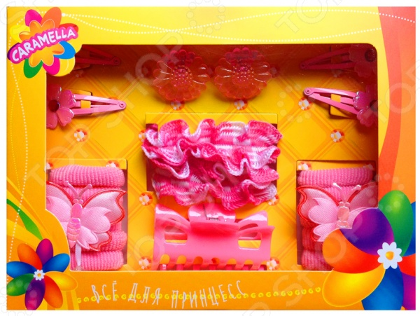 Набор украшений для волос Caramella «Мечта» наборы аксессуаров для волос esli комплект аксессуаров для волос light yellow