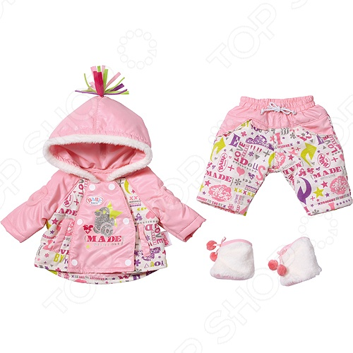 фото Кукла с зимней одеждой Zapf Creation BABY born, Кукольные аксессуары