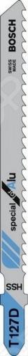 Набор пилок для лобзика Bosch T 127 D HSS