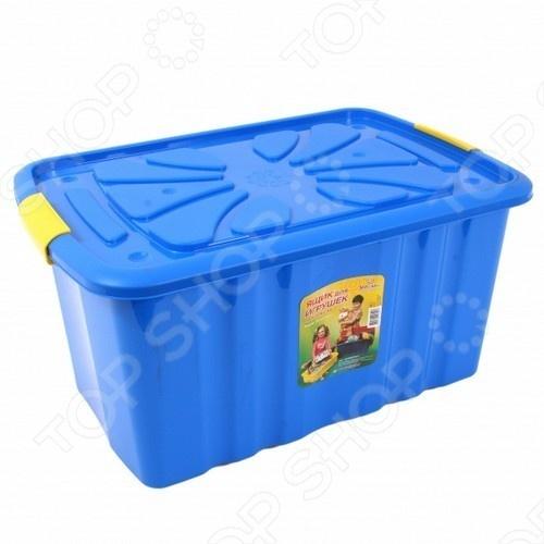Ящик для игрушек Полимербыт ЯВ071819. В ассортименте