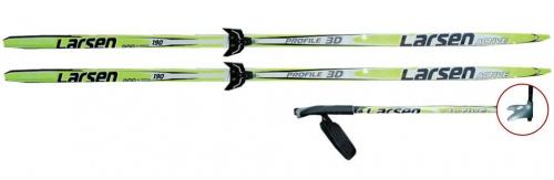 фото Комплект лыжный Larsen Active (лак) Wax, купить, цена