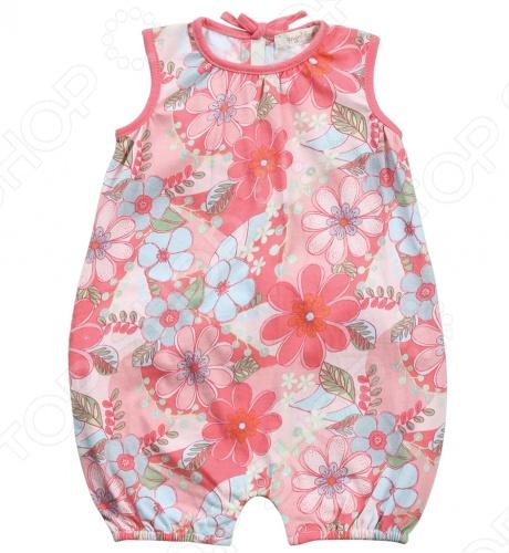 Angel Dear, создает классическую одежду для новорожденных и детей младшего возраста от 0 до 4 лет . При создании учитываются самые современные тенденции в мире моды, и особое внимание уделяется деталям. Каждая коллекция имеет свой неповторимый стиль, который дополняется различными милыми аксессуарами, чтобы сохранить ощущения столь сладостного периода детства. Комфорт ребенка - основополагающий принцип в создании коллекций каждого сезона. Линии одежды Angel Dear вы можете увидеть в лучших бутиках и магазинах по всей территории США. Песочник Angel Dear Savannah. Очаровательный песочник с рисунком из 100 хлопка, округлый вырез горловины, на спине завязки, сзади рюши. Прекрасный вариант для повседневной носки. Состав: 100 хлопок.