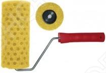 Валик поролоновый структурный в горошек FIT Профи особенно удобен для использования в быту и является прекрасным подарком, как для сильного, так и для слабого пола! Основными особенностями данной модели стали: материал изготовления - структурный поролон в горошек, диаметр 40 80 мм, система с пластиковым роликом, закрепленным на шести миллиметровом бюгеле. Профи используется со структурными красками на алкидной и акриловой основе. Порадуйте себя и свой любимый дом столь приятным, а главное полезным подарком, как валик поролоновый структурный в горошек Профи от компании FIT!