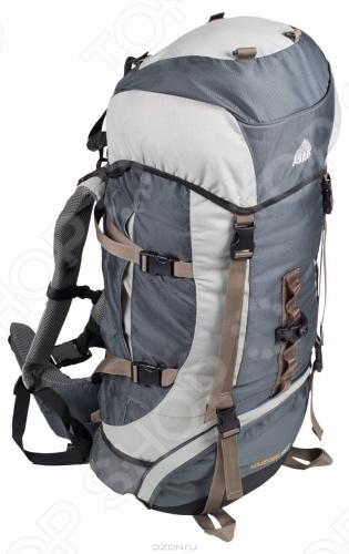 Colorado 65 Трекинговый рюкзак с многофункциональной навеской для снаряжения и дополнительным входом в нижнее отделение. Оснащен анатомической вентилируемой спинкой, которая обеспечивает максимальный комфорт и стабилизацию рюкзака на спине. Многофункциональная навеска для снаряжения и дополнительные лямки для его крепления в нижней части рюкзака позволят вам взять с собой все необходимое. Продуманная система карманов предусмотрена для хранения мелких предметов и полезной мелочевки.