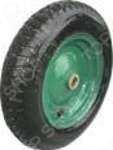 Колесо запасное FIT для тачки 77552 это отличное колесо, диаметром 16 х4 для тачки модели 77552. Колесо с резиновой шиной и камерой, грузоподъемность 200 кг. Есть шариковый стальной подшипник, диск крашенный в зеленый цвет. В случае, если вы часто используете тачку, лучше иметь запасное колесо, что бы избежать возможных проблем.
