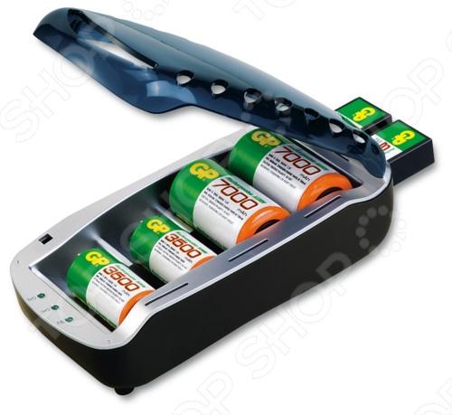 Устройство зарядное GP Batteries PB19GS-C1 набор батареек gp batteries cr2025