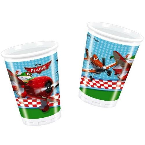 Стаканы пластиковые Procos «Самолеты» посуда и скатерти procos самолеты 120x180 см