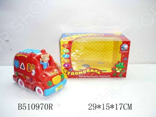 Машинка игрушечная Tongde «Чудомобиль» машинки hti паровозик roadsterz синий с вагоном звуковыми и световыми эффектами