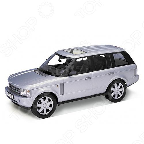 Модель машины 1:18 Welly Land Rover Range Rover автомобиль welly land rover range rover 1 18 серебристый