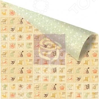 фото Бумага для скрапбукинга двусторонняя Prima Marketing Mosaic, купить, цена