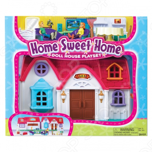 Набор игровой для девочек Keenway «Home Sweet Home» danielle stein fairhurst financial modeling in excel for dummies