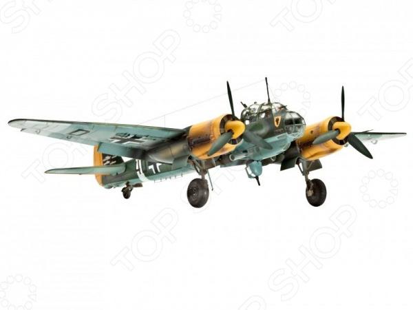 Сборная модель бомбардировщика Revell Junkers Ju 88 A4/D-1 александр медведь юнкерс ju 88 от пикирующего бомбардировщика и ночного истребителя до самолета самоубийцы