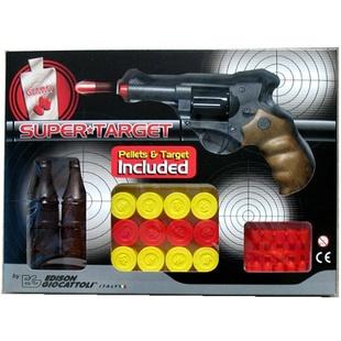Пистолет с мишенями и пульками Edison Giocattoli Champions-Line Supertarget сплит система ballu bsli 09hn1 ee eu комплект из 2 х коробок