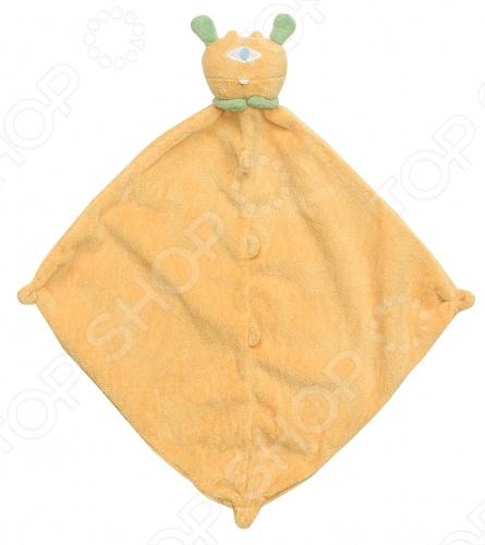 Покрывальце-игрушка Angel Dear ЦиклопПеленальные одеяла. Пеленки<br>Angel Dear, создает классическую одежду для новорожденных и детей младшего возраста от 0 до 4 лет . При создании учитываются самые современные тенденции в мире моды, и особое внимание уделяется деталям. Каждая коллекция имеет свой неповторимый стиль, который дополняется различными милыми аксессуарами, чтобы сохранить ощущения столь сладостного периода детства. Комфорт ребенка - основополагающий принцип в создании коллекций каждого сезона. Линии одежды Angel Dear вы можете увидеть в лучших бутиках и магазинах по всей территории США. Покрывальце-игрушка Angel Dear Циклоп. Очаровательная покрывальце-игрушка Циклоп из супер мягкого кашемирового полиэстера декорированная мордочкой животного. Чудесная развивающая игрушка для самых маленьких. Состав: 100 кашемировый полиэстер. Размер: 33х33 см.<br>