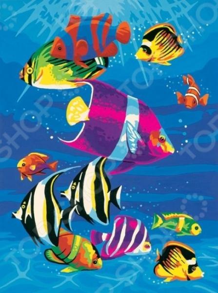 Набор для рисования по номерам Dimensions «Тропическое море»Наборы для рисования по номерам<br>Набор для рисования по номерам Dimensions Тропическое море подарит возможность любому человеку без художественного образования почувствовать себя профессиональным живописцем! Рисование по номерам это новый вид увлекательного изобразительного хобби. Нанеся краски на холст с готовым контуром рисунка и номерами необходимой краски, ориентируясь на контрольный лист, вы сможете создать настоящий шедевр своими руками. Набор будет одинаково интересен и детям, и взрослым. Вы можете преподнести его в качестве подарка или использовать, чтобы украсить стены своей комнаты или гостиной. В наборе: качественные акриловые краски, фактурный картон с нанесенным контуром рисунка, кисть, инструкция. Дизайн: Royce B. McClure. Размер холста: 23х30 см. Использованная в данном наборе краска на основе акриловой кислоты очень популярна, универсальна и удобна в обращении. Она быстро высыхает, не выгорает на солнце и не тускнеет со временем. После высыхания такая краска образует эластичную пленку, которая не крошится, не отслаивается и не трескается. Высохшая акриловая краска устойчива к перепадам температур и изменению влажности.<br>