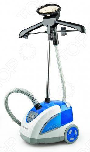 Отпариватель Maxwell MW-3703 позволяет ухаживать за своими любимыми вещами, не снимая их с вешалки. Отпариватель легко и быстро разгладит любую ткань от шелка до плотного драпа, бережно очистит изделия из кожи или замши от ворсинок, пыли и грязи. Прибор почистит и приведет в идеальный вид любимую шубу или меховой воротник. Вместительный резервуар для воды емкостью 2, 5 литра позволит пользоваться прибором до 30 минут без дополнительного долива воды. Функция непрерывной подачи пара и два режима подачи пара для разных типов текстиля позволяют добиться идеального результата без всяких усилий. Насадка-щетка в комплекте идеально подходит для удаления ворса и шерсти животных, прилипших к одежде. Складная вешалка поможет удобно разместить одежду для чистки и вертикального отпаривания.
