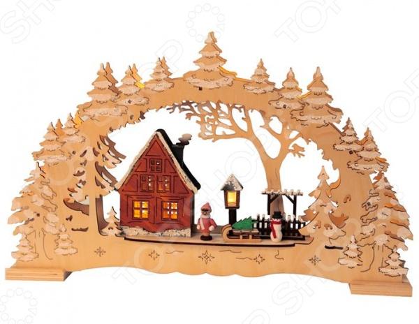 Декорация рождественская Star Trading Деревня