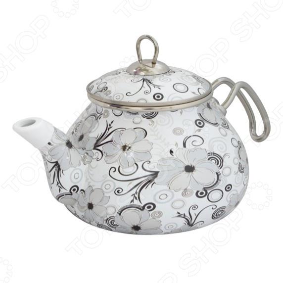 Чайник эмалированный Interos «Кружево» Interos - артикул: 407870