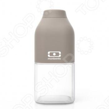 Бутылка Monbento MB Positive Бутылка Monbento MB Positive /Серый/Белый
