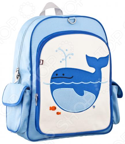 Lucas - Whale Рюкзак Beatrix New York Кит Лукас с боковыми карманами