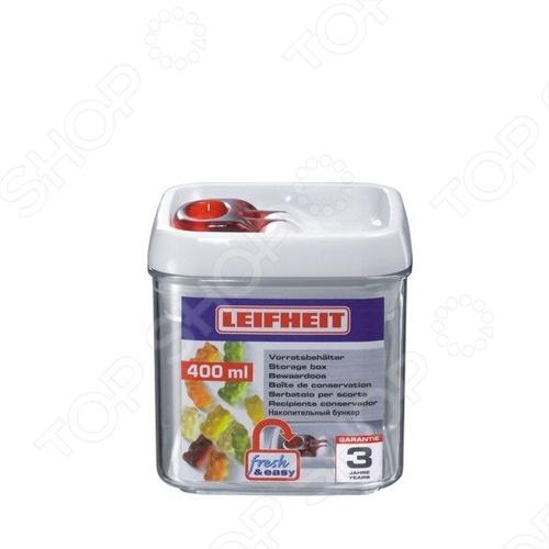 Контейнер для хранения Leifheit Fresh&amp;amp;Easy 31207Контейнеры для продуктов и ланч-боксы<br>Контейнер для хранения Leifheit Fresh Easy 31207 это отличная круглая чаша, которая сделана из пластика. Чаша идеально подходит для длительного хранения продуктов в холодильнике, обеспечивает 100 герметичность. Чаша выдерживает перепады температуры, можно использовать в морозильнике. Контейнер легко моется и не впитывает запах продуктов. Емкость штабелируется.<br>