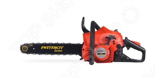 Пила цепная бензиновая Patriot 3816  бензиновая цепная пила tsunami sg3840