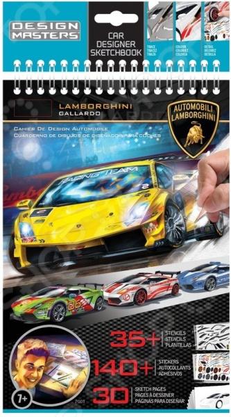 Блокнот с трафаретами Design Master Lamborghini каждый ребенок хотел бы когда-нибудь научиться хорошо рисовать и делать иллюстрации. Для этого нужно тренироваться. Вот для этого и созданы трафареты, что бы человек мог повторять контуры объекта, тем самым набивая руку. Дополнительно можно украсить ваш рисунок наклейками, которые входят в комплект.