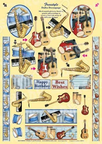 фото Аппликация металлизированная вырубная Reddy Creative Cards «Дюфекс Фристайл» №10, купить, цена