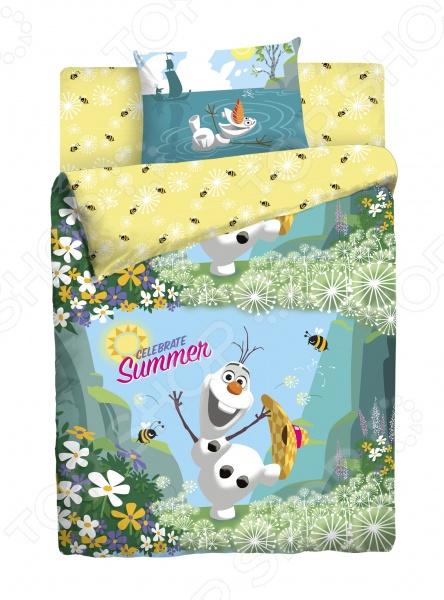 Детский комплект постельного белья Disney «Frozen»