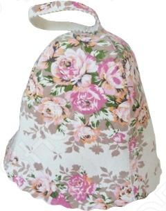 Шапка с орнаментом Банные штучки 40136 вафельный халат банный м xxl цвет в ассортименте банные штучки 33356