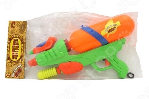 Водный пистолет Тилибом Т80458 водный пистолет тилибом с помпой 45см красный для мальчика