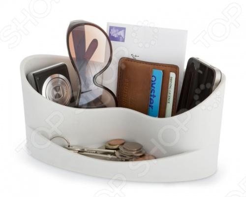 Органайзер для мелочей J-me CasaДиспенсеры. Держатели. Подставки. Органайзеры<br>Органайзер для мелочей J-me Casa незаменим в домашнем хозяйстве и станет отличным дополнением к набору ваших бытовых принадлежностей. Изделие универсально и практично в использовании, пригодится для хранения различных мелочей, бумажников, МР3-плееров, очков, ключей, визитниц и т.д. Модель снабжена двумя вместительными отделениями. Изделие выполнено из высококачественного плотного каучука с антистатическими свойствами, компактно и практично в использовании.<br>