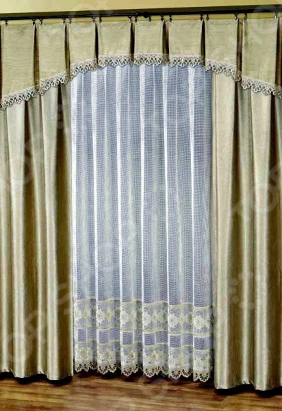 Комплект штор Haft 28890-250Шторы<br>Комплект штор Haft 28890-250 это качественный оконный занавес, который преобразит интерьер и оживит атмосферу, придав всей комнате домашний уют, завершенность и оригинальность. Шторы изготовлены из полиэстера, который практически не мнется, легко отстирывается от загрязнений, не притягивает пыль и не требует глажки. Благодаря этому ткань способна выдержать сотни стирок без потери цвета и прочности. Обычные материалы со временем выгорают, на них собирается пыль, появляются неприятные запахи. С полиэстером этого не происходит штора почти не пачкается и не впитывает запахи, при этом вы очень легко ее постираете и высушите. Интерьер квартиры или дома, в котором окна не украшены занавесом, сегодня трудно представить, поэтому шторы станут отличным подарком для любого человека. Купить шторы способ недорого, быстро и изящно преобразить дизайн домашнего интерьера!<br>