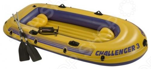 Лодка надувная Intex «Челленджер-3» 68370 лодка надувная intex эксплорер 200 58330
