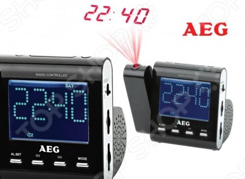 Радиочасы AEG MRC 4122 F