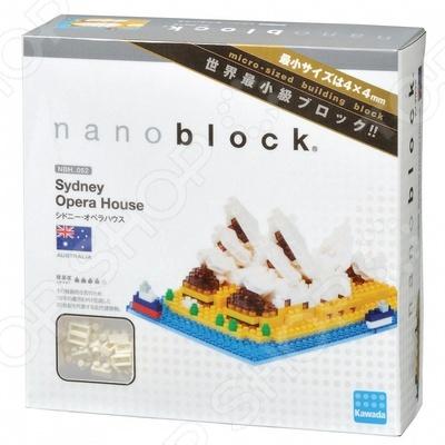 Мини-конструктор Nanoblock NBH_052 «Сиднейский оперный театр» гаджет fototo nanoblock фотоаппарат конструктор