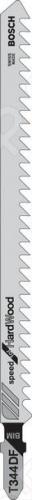 Набор пилок для лобзика Bosch T 344 DF BIM пилка для лобзика bosch 2609256746 2609256746
