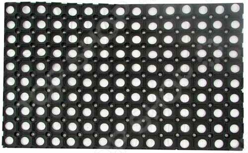 Коврик дверной грязесборный VORTEX ячеистый защищает входную зону от проникновения грязи. Такой коврик изготовлен из высококачественной резины. Покрытие состоит из множества ячеек, в которых остаются грязь и снег. Грязесборные ячеистые коврики VORTEX разработаны для длительной эксплуатации. Они обладают высокой прочностью, стойкостью к ультрафиолетовому излучению.