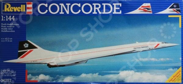 ������� ������ �������� Revell Concorde �British Airlines�