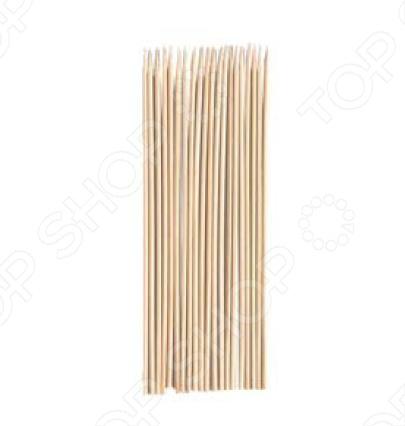 Шампуры Boyscout бамбуковые шампуры двойные boyscout с деревянной ручкой 33 см 4 шт