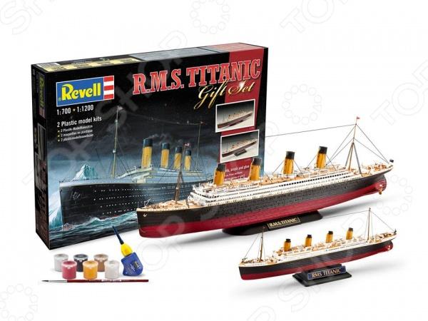 Сборная модель корабля Revell R.M.S. Titanic. Количество деталей: 172