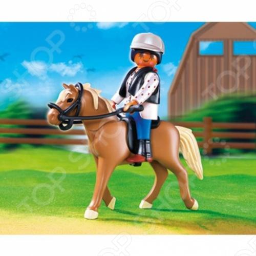 Конный клуб:Лошадь Хафлингер со стойлом Playmobil 5109pm будет интересна, как для мальчиков, так и для девочек, ведь конный спорт очень популярен и интересен не только своей спортивной составляющей, но и красотой, грацией такого замечательного животного, как лошадь. Малыш будет ухаживать за ней и вместе с лошадкой узнавать и совершенствовать навыки верховой езды.