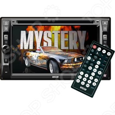 Mystery MDD-6240S автомагнитола mystery mdd 6240s usb cd mp3 dvd sd mmc 2din 4x50вт пульт ду черный