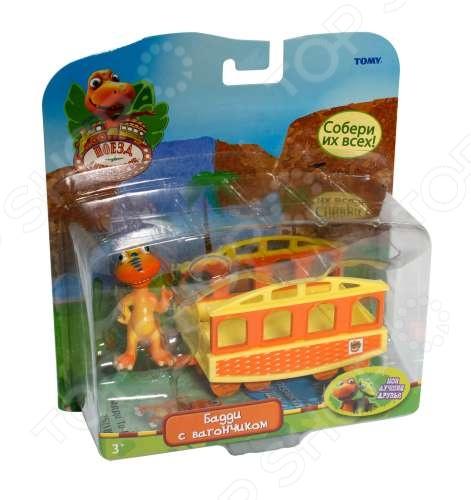Набор игровой Поезд Динозавров «Бадди с вагончиком» поезд динозавров выпуск 4 серии 16 20