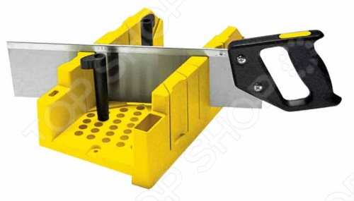Стусло STANLEY 1-20-600 с ножовкой пластиковое стусло с ножовкой stanley 1 20 600