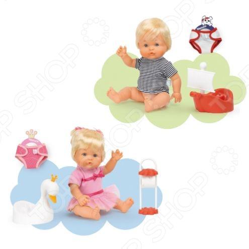 Пупсы-близнецы Famosa «Nenuco на горшках» Пупсы-близнецы Famosa «Nenuco на горшках» /