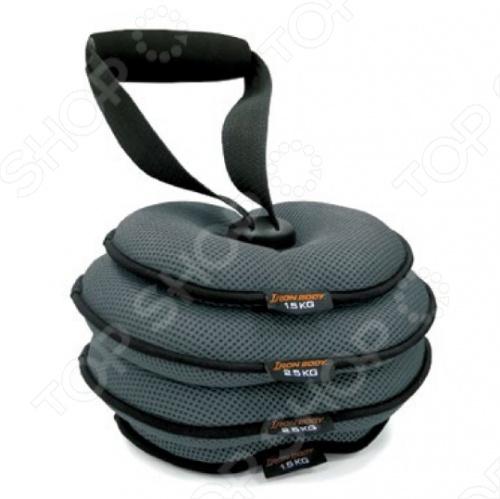 Гиря наборная мягкая Iron Body 3950EG-60 гиря iron head бизон 24 0 кг