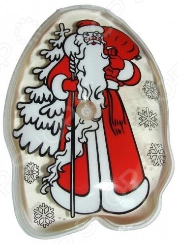 Грелка солевая ДЕЛЬТА-ТЕРМ «Дед Мороз» солевая грелка